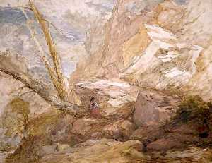 David Cox The Elder - The Missing Lamb
