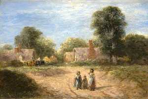 David Cox The Elder - The Farmstead