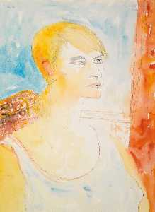John Bellany - Portrait of Julie