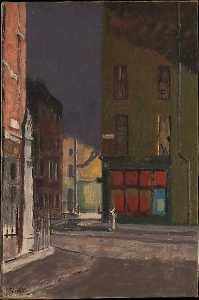 Walter Richard Sickert - Maple Street, London