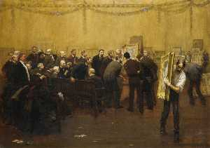 Francis Luis Mora - The National Academy Jury of 1907