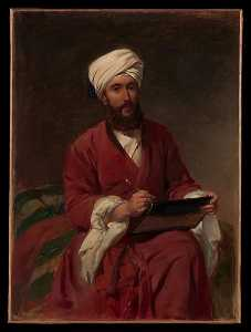 Frederick Goodall - William Edward Dighton (1822 1853) in Middle Eastern Dress
