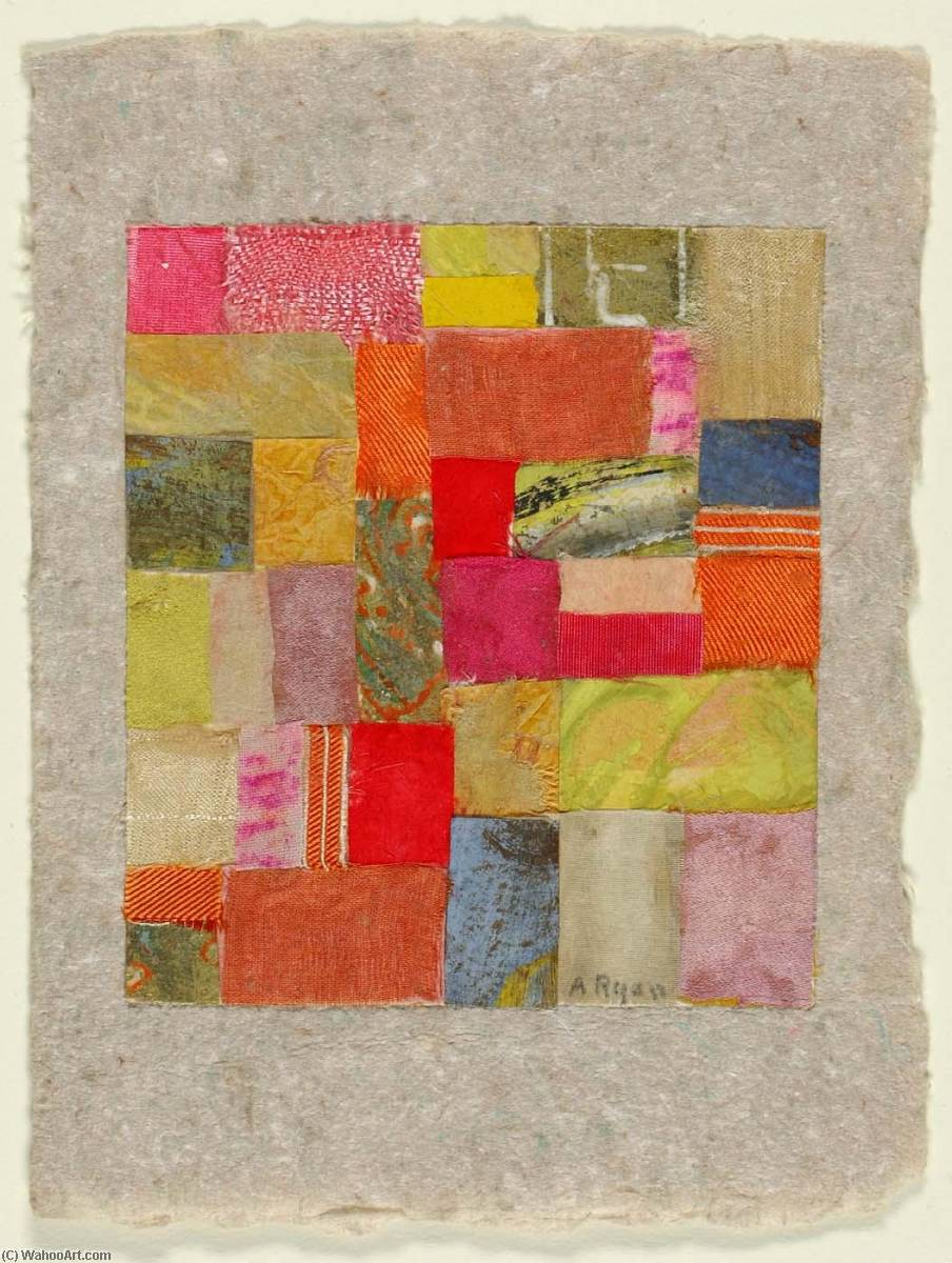 Untitled ( 424), 1953 by Anne Ryan (1889-1954, United States) |  | WahooArt.com