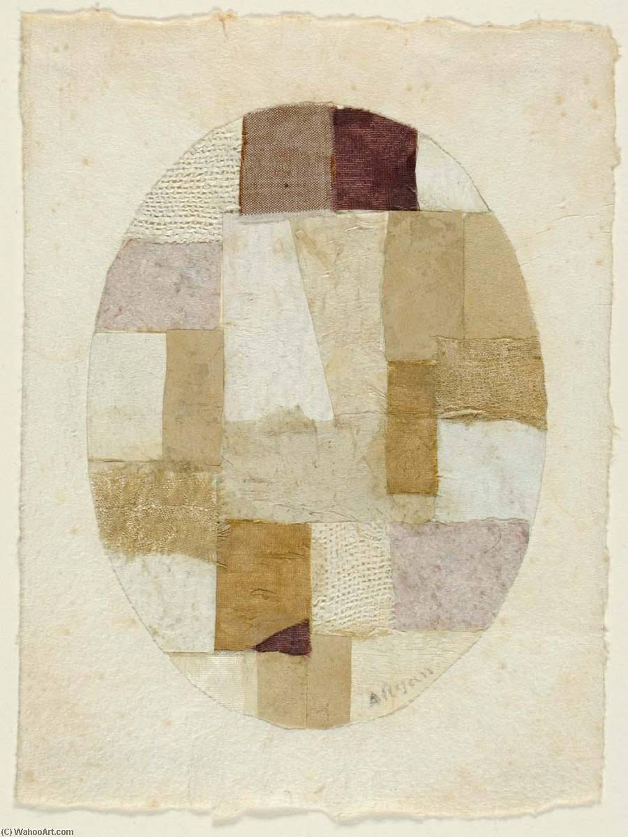 Untitled ( 461), 1952 by Anne Ryan (1889-1954, United States) |  | WahooArt.com