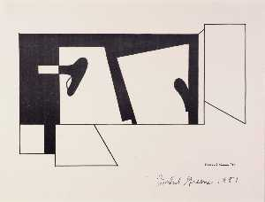 Balcomb Greene - Untitled, from the American Abstract Artists portfolio