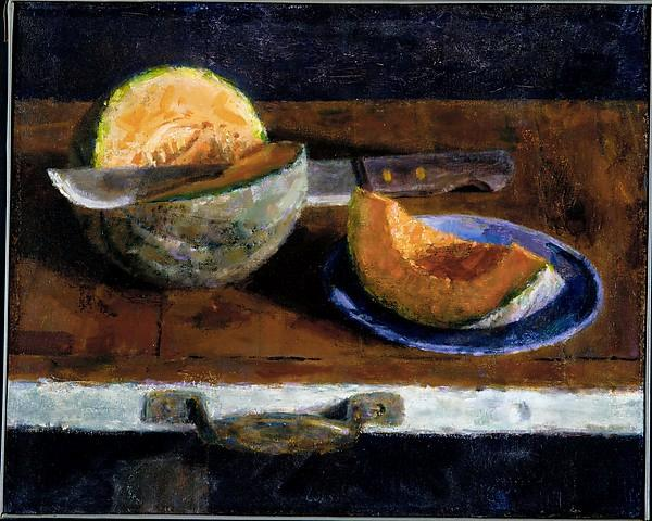 Melons, 1962 by Joseph Hirsch (1910-1981, United States) | Painting Copy | WahooArt.com