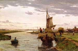 David Farquharson - Loading the Hay Barge