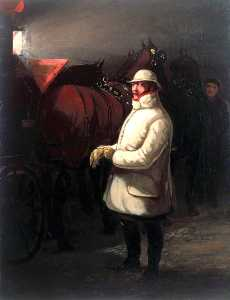 Henry Thomas Alken - The Driver of the Mail, 1832