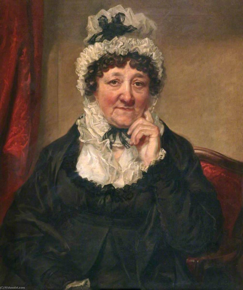 Hannah Hatfield, 1839 by Joseph Allen | Museum Quality Reproductions | WahooArt.com