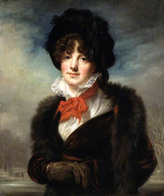 Mary Fryer Todd, née Evans, 1799 by Joseph Allen | Art Reproduction | WahooArt.com