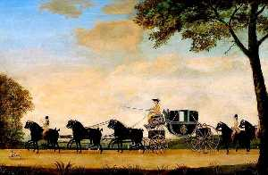 John Cordrey - The Marquess of Queensberry-s Coach