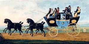 John Cordrey - The London to Birmingham Stage Coach