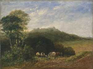 David Cox The Elder - Dudley Castle