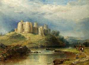 David Cox The Elder - Kidwelly Castle