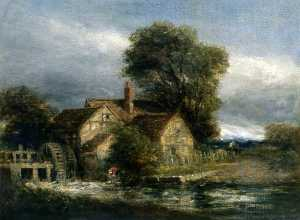 David Cox The Elder - The Old Mill