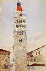 Cass Gilbert - Cathedral Tower, Pistoia, Italy