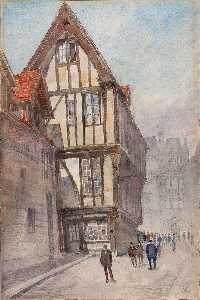 Cass Gilbert - Old House in Rouen
