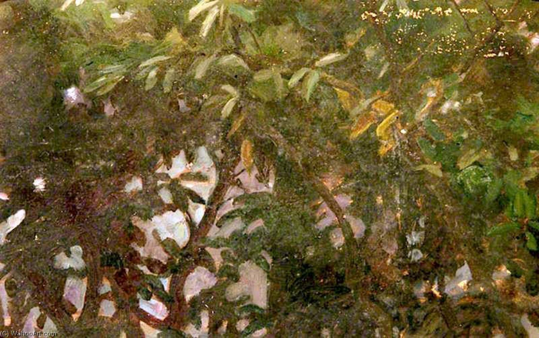 Leaves, Oil On Panel by Percy Harland Fisher