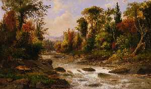 Robert Seldon Duncanson - On the St. Annes, East Canada