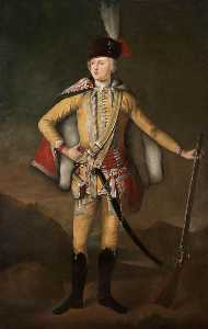 Richard Waitt - Portrait of John 20th Earl of Crawford and Lindsay
