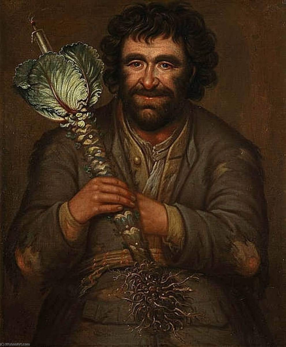 The Cromartie Fool, Oil On Canvas by Richard Waitt