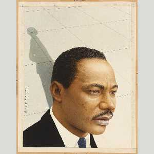 Robert Vickrey - Martin Luther King, Jr