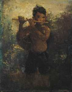 Romualdo Frederico Locatelli - The Flautist