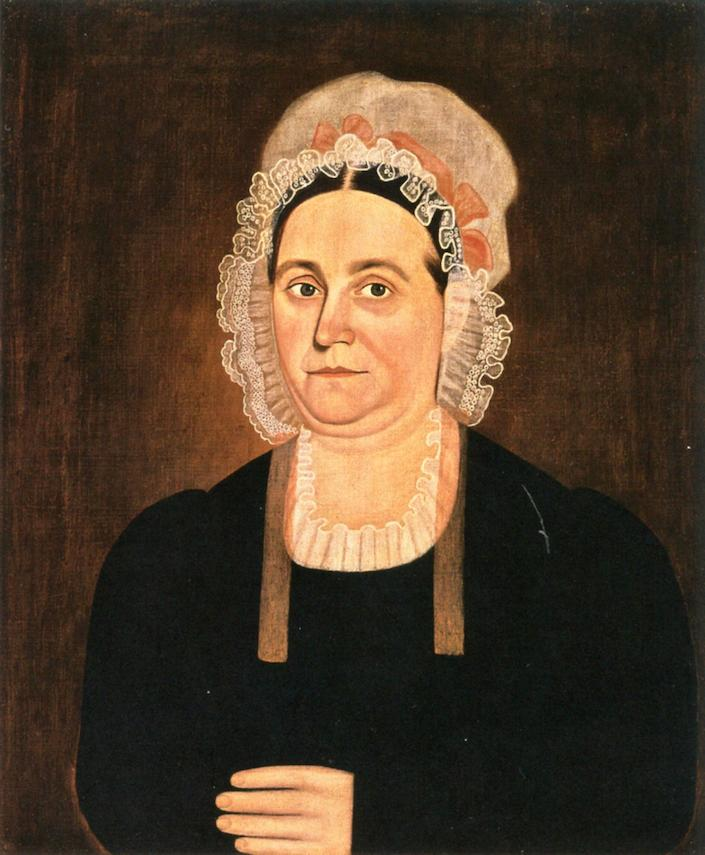 Martha Colley, 1820 by John Brewster Junior | Oil Painting | WahooArt.com