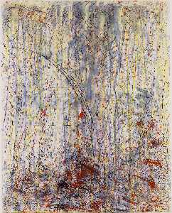 Pat Steir - Waterfall