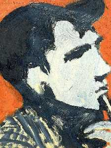 William Theophilus Brown - Portrait of Jack Kerouac