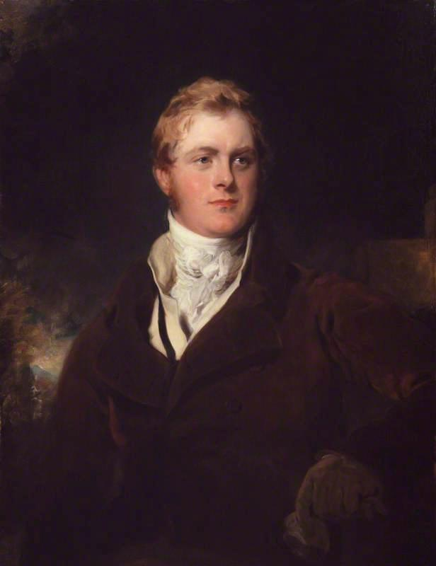 Frederick John Robinson, 1st Earl of Ripon, Oil On Canvas by Thomas Lawrence (1769-1830, United Kingdom)