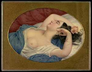 Henry Breintnall Bounetheau - Sleeping Beauty, (painting)