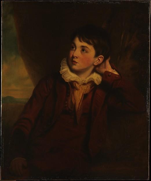 Order Art Reproductions | William Archer Shee (1810 1899), the Artist`s Son, 1820 by Martin Archer Shee (1769-1850, Ireland) | WahooArt.com