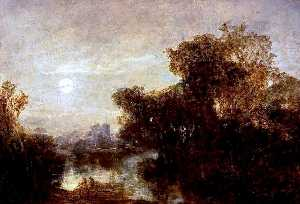 John Crawford Wintour - Moonlight, Blairlogie
