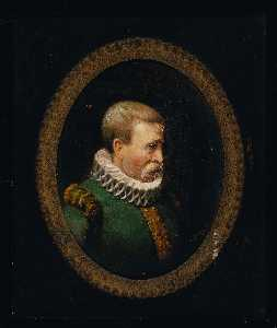 John O'brien Inman - Portrait of a Huguenot Gentleman of the Time of Charles IX