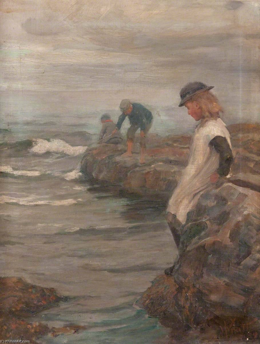 Seascape by William Pratt | Famous Paintings Reproductions | WahooArt.com