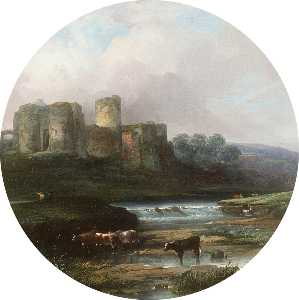 William Pitt - Kidwelly Castle, South Wales