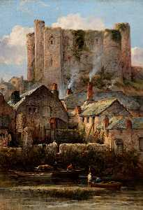 William Pitt - Haverfordwest Castle, South Wales