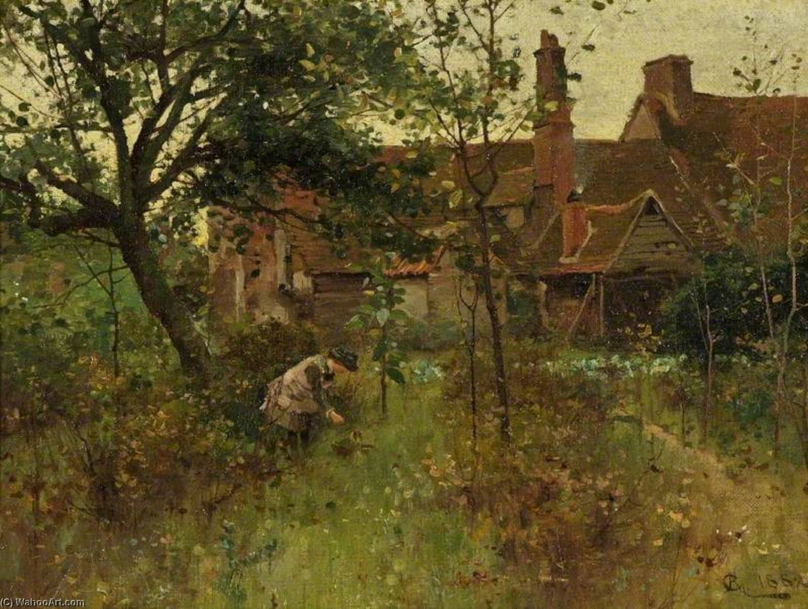 The Happy Hours of Childhood, 1882 by Alfred Augustus Glendening | Museum Quality Reproductions | WahooArt.com