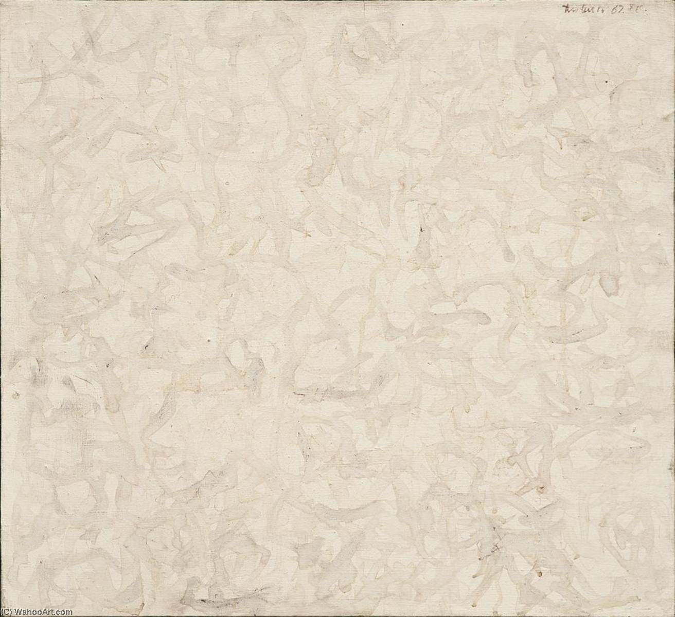 Abstract Gray And White, 1967 by Domenick Turturro |  | WahooArt.com