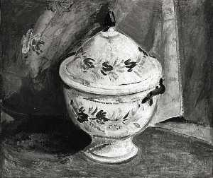 Alfred Henry Maurer - Still Life with Bowl, (painting)