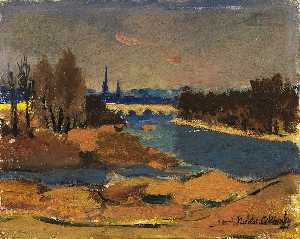 Nicolai Cikovsky - The River