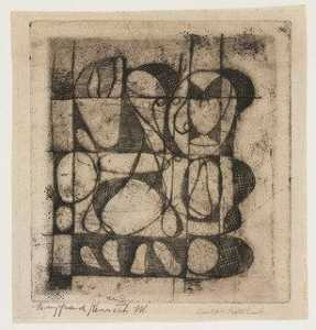 Adolph Gottlieb - Untitled (Etching B)