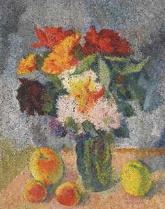 Nikolai Andreevich Tyrsa - Flowers and Apples