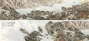 Tang Zheming - AUTUMN LANDSCAPE AFTER DU FU'S POEM