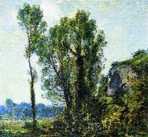 Walter Griffin - French Poplars