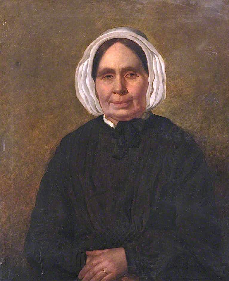 Margaret Hosie, Wife of William Fox, Merchant of Carnoustie by William Baxter Collier Fyfe | Oil Painting | WahooArt.com