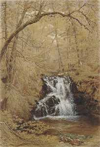 William Rickarby Miller - Indian Falls, Indian Brook, Cold Springs, New York