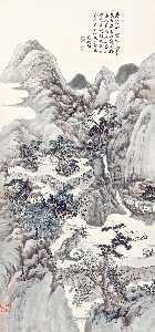 Xia Jingguan - WATERFALL IN THE RAVINE