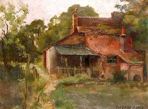 Charles William Carey - Farm House, Mount Lee